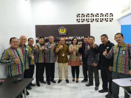 Audiens IKPI Cab. Makassar dengan KPP Pratama Bantaeng, Bapak Wawan Tgl 24-01-2020